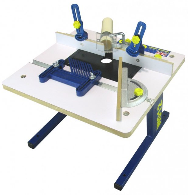 """CHARNWOOD W012 BENCH TOP ROUTER TABLE FITS ANY 1//4/"""" ROUTER"""
