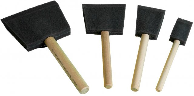 Chestnut Chestnut Foam Brushes Starter Pack (one of each)