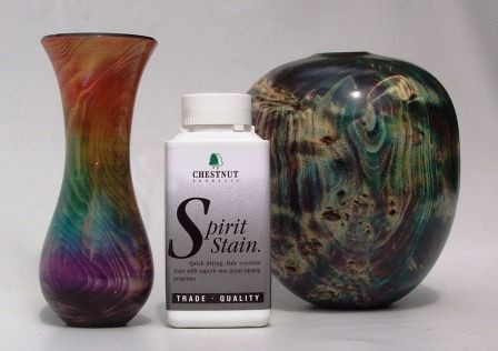 Chestnut Chestnut Spirit Stain Rainbow Colours