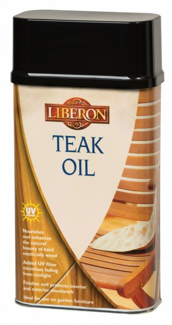 Liberon Liberon Teak Oil With UV Filters