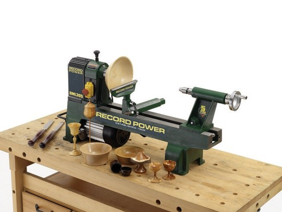 Record Power Record Power DML305 Cast Iron 6 Speed Midi Lathe