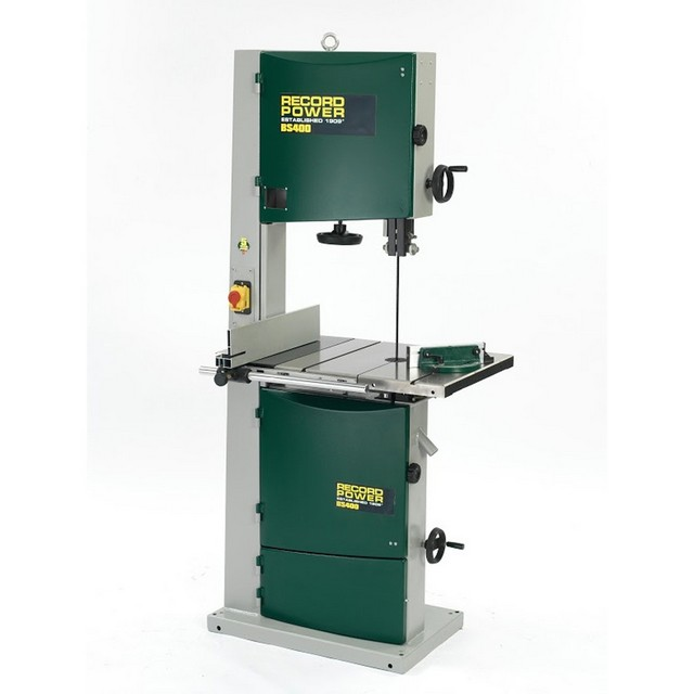 "Record Power Record Power BS400 400mm (16"") Bandsaw 1500W 230V"
