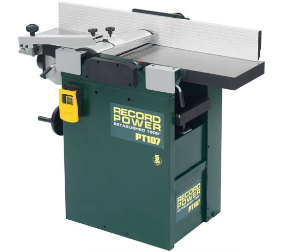"Record Power Record Power PT107 10"" x 7"" Heavy Duty Planer Thicknesser"