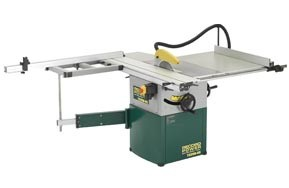 Record Power TS250RS Cast Iron 10' Table Saw with Sliding Beam