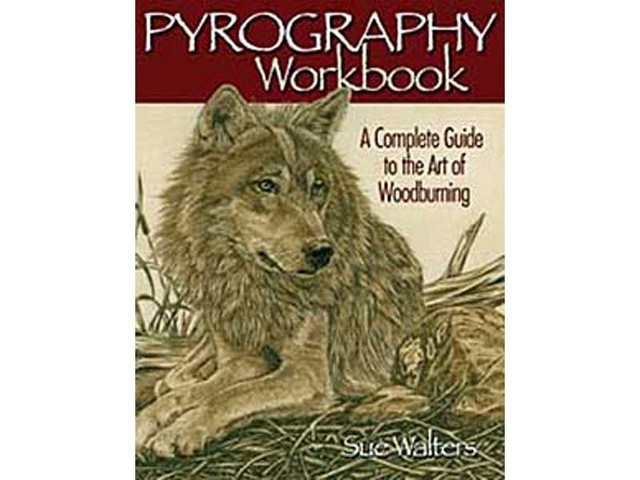 GMC Publications Pyrography Workbook
