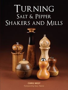 GMC Publications Turning Salt & Pepper Shakers and Mills