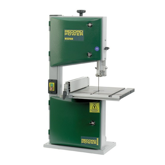 "Record Power Record Power BS250 Premium 10"" Bandsaw 250W 230V"