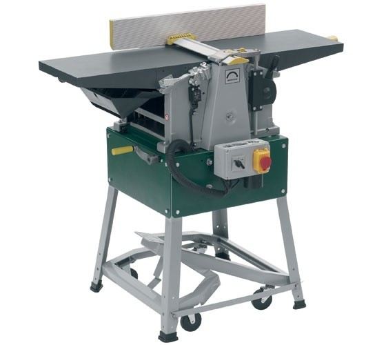 "Record Power Record Power PT260 10"" x 6"" Planer Thicknesser, 2000W, 240V c/w Stand & Wheel Kit"