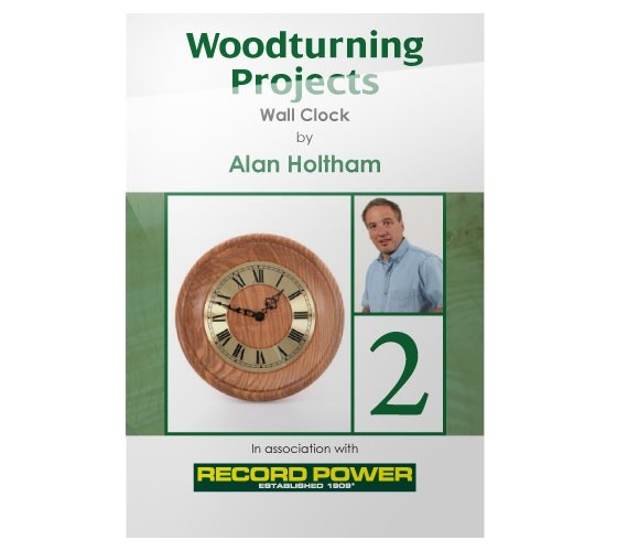 Record Power RECORD POWER DVD (ALAN HOLTHAM - WOODTURNING PROJECT WALL CLOCK)