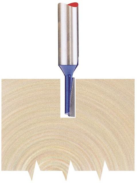 Draper DRAPER 1/4' Straight 3 x 11mm TCT Router Bit