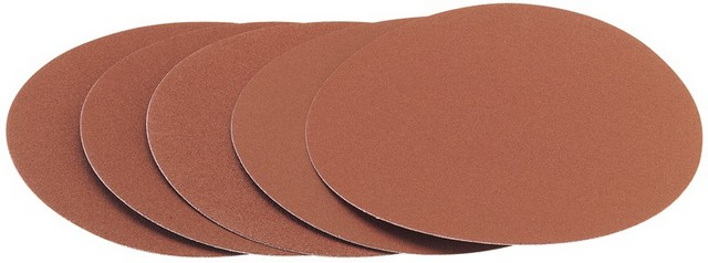 Draper DRAPER Five 200mm 120 Grit Hook and Eye Backed Aluminium Oxide